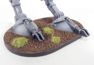This AT-ST is featured on a Classic base.