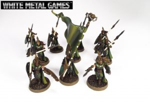 Times they are a changing! Warhammer models on new round bases!